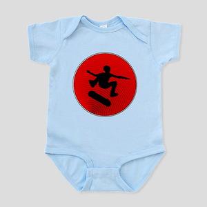 Red Skater Infant Bodysuit