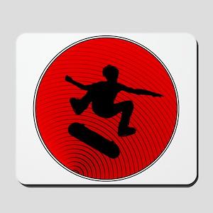 Red Skater Mousepad