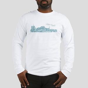 Paris France Long Sleeve T-Shirt