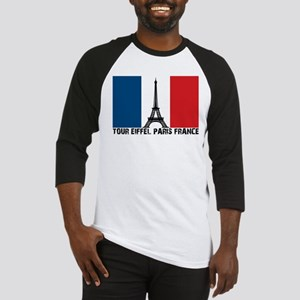 Tour Eiffel Paris France Baseball Jersey