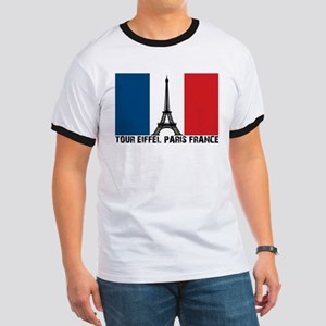 Tour Eiffel Paris France Ringer T
