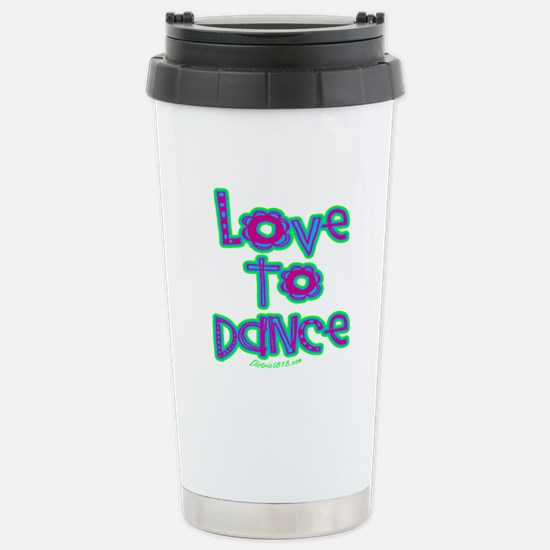 DANCE Stainless Steel Travel Mug