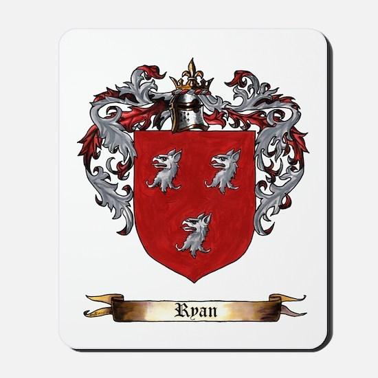 Ryan Coat Of Arms Mousepad