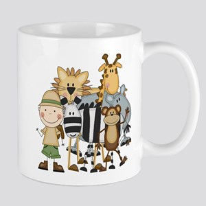 Boy on Safari Mug