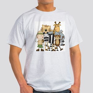 Boy on Safari Light T-Shirt