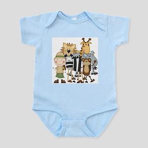 Boy on Safari Infant Bodysuit