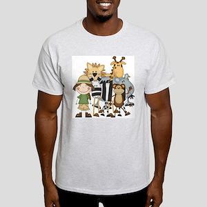 Girl on Safari Light T-Shirt