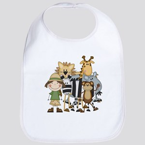 Girl on Safari Bib