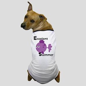 Excellent Swimmer Dog T-Shirt