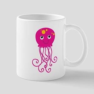 Pink Jellyfish Mug