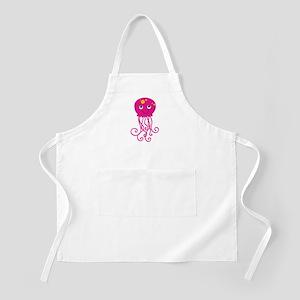 Pink Jellyfish Apron