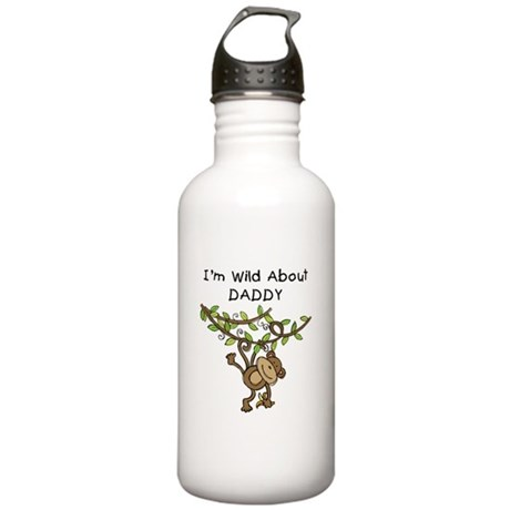 Wild About Daddy Stainless Water Bottle 1.0L