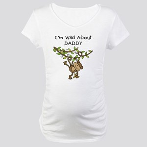 Wild About Daddy Maternity T-Shirt