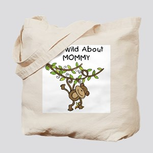 Wild About Mommy Long Sleeve Tote Bag