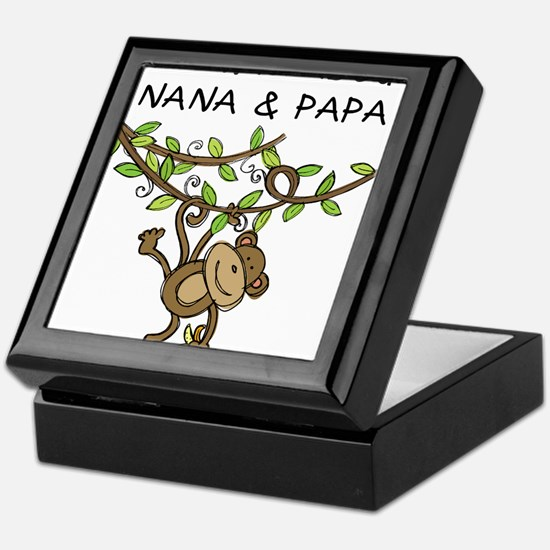 Wild About Nana & Papa Keepsake Box