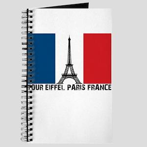 French Flag, Tour Eiffel Pari Journal