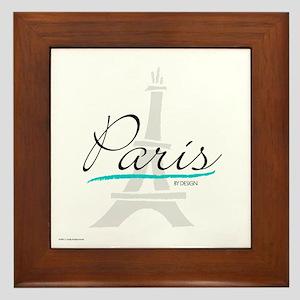 Paris by Design Framed Tile