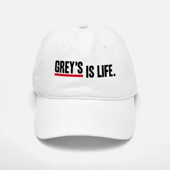 Grey's Is Life Baseball Baseball Cap