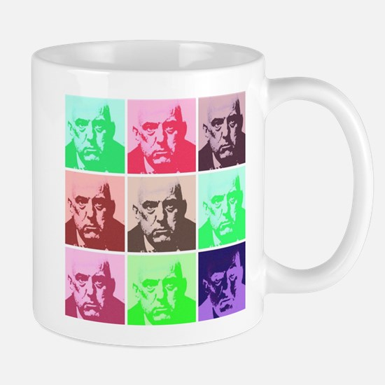 Aleister Crowley in Color Mug