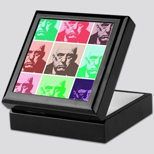 Aleister Crowley in Color Keepsake Box
