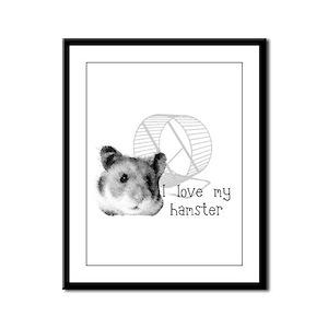 Animals Framed Panel Print
