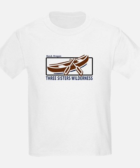 Three Sisters Wilderness Kids T-Shirt