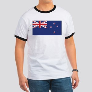 New Zealand Flag Ringer T