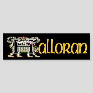 Halloran Celtic Dragon Bumper Sticker