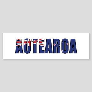 New Zealand (Maori) Sticker (Bumper)