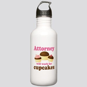 Funny Attorney Stainless Water Bottle 1.0L
