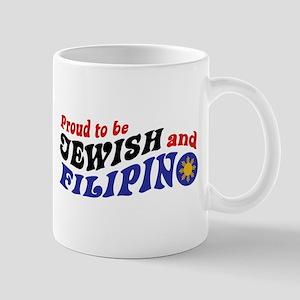 Proud to be Jewish and Filipino Mug