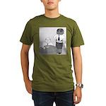 Fly in My Soup (No Text) Organic Men's T-Shirt (da