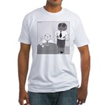Fly in My Soup (No Text) Fitted T-Shirt