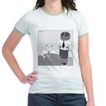 Fly in My Soup (No Text) Jr. Ringer T-Shirt