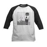 Fly in My Soup (No Text) Kids Baseball Jersey