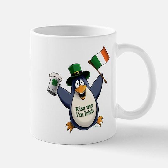 Irish Penguin Mug