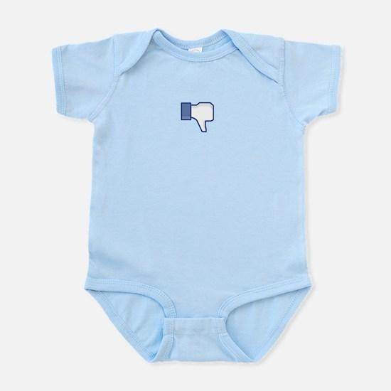 FB Dislike Hand Infant Bodysuit