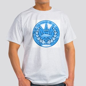 El Salvador Seal Ash Grey T-Shirt