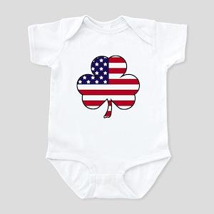'American Shamrock' Infant Bodysuit