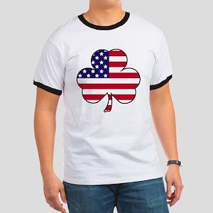 'American Shamrock' Ringer T