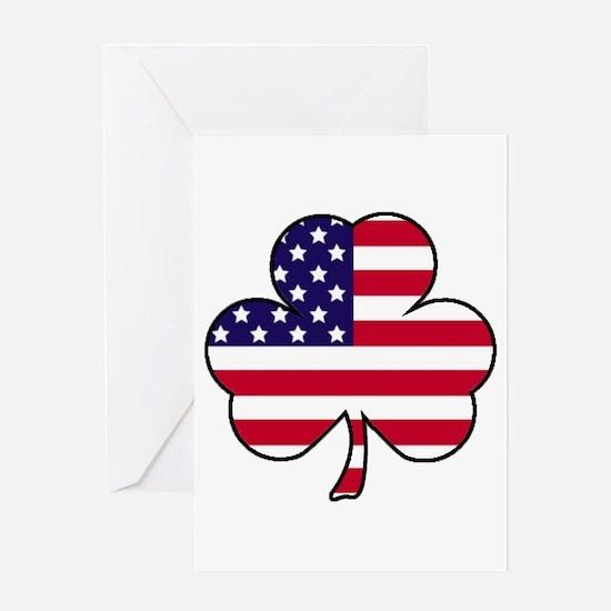 'American Shamrock' Greeting Card