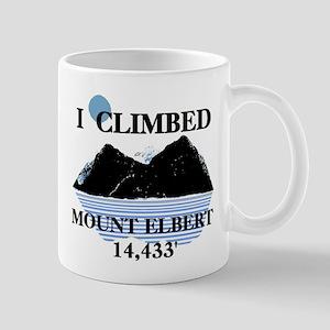 I Climbed Mount Elbert Mug