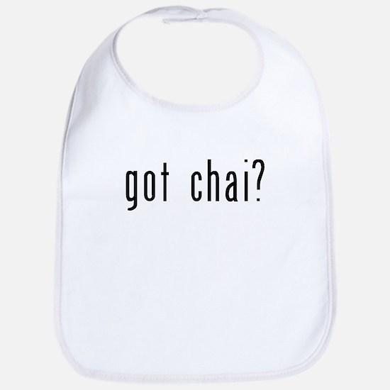 got chai? Bib