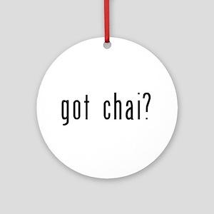 got chai? Ornament (Round)