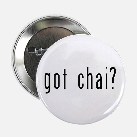 """got chai? 2.25"""" Button"""