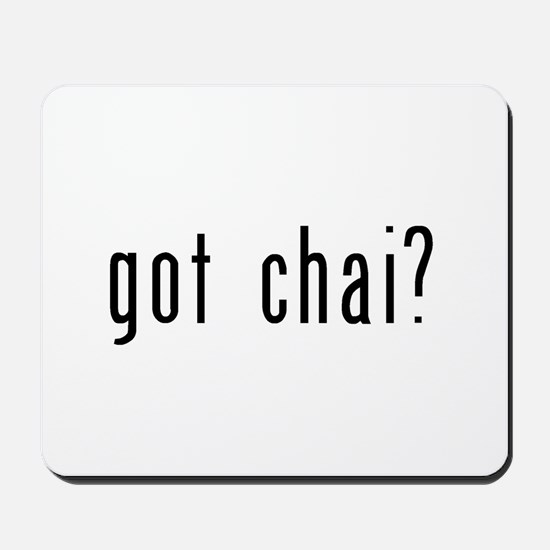 got chai? Mousepad