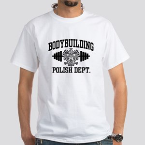 Polish Bodybuilding White T-Shirt