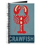 Crawfish In Red and Blue Journal