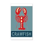 Crawfish In Red and Blue 38.5 x 24.5 Wall Peel