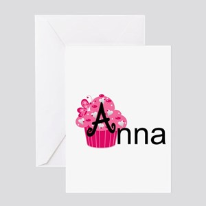 Anna Baby Cakes Greeting Card